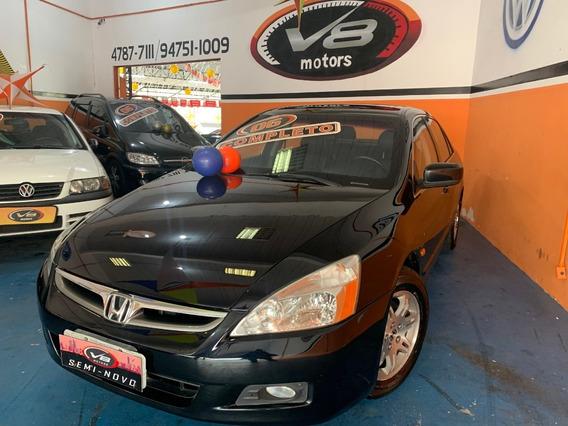 Honda Accord Ex 3.0 V6 2006 Blindado
