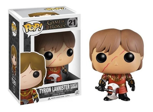 Funko Pop! Tyrion Lannister In Battle Armor #21