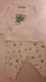 Conjunto 2 Piezas /pijama Mimo Xs Unisex