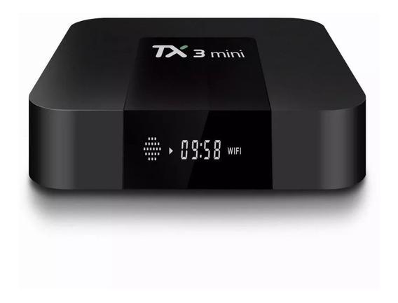 Smart Tv Box Tx 3 Min 2.4 Ghz 4k 3gb Ram 32gb Rom