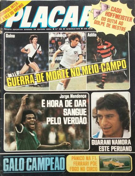 Revista Placar N° 464 - 16.03.1979 - Pôster Sócrates