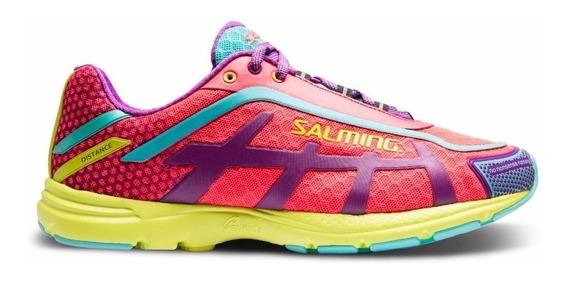 Zapatilla Salming Distance D5 Mujer Running