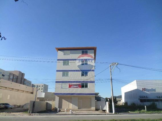 Apartamento Com 1 Dormitório À Venda, 42 M² A Partir De R$ 195.000 - Centro - São Pedro Da Aldeia/rj - Ap0432