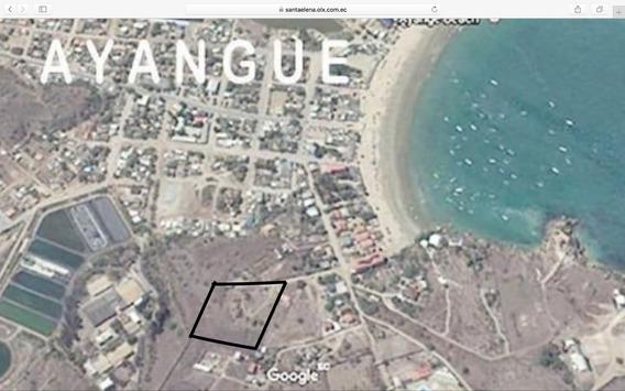 Espectacular Propiedad! M2 7200 En Playa De Ayangue $365.000