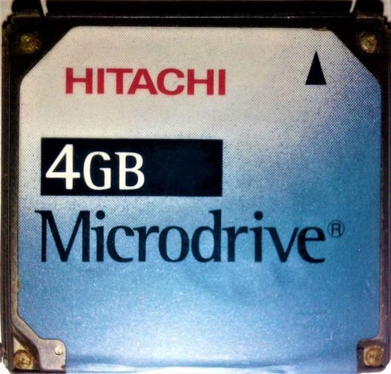 Cartão Microdrive 4gb (hitachi)