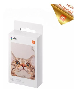 Papel P/ Impressora De Foto Xiaomi, Instantânea, Pack C/ 50