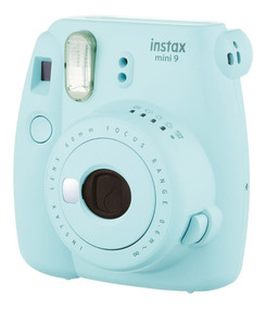 Câmera Fotográfica Fujifilm Instax Mini 9 Azul Aqua