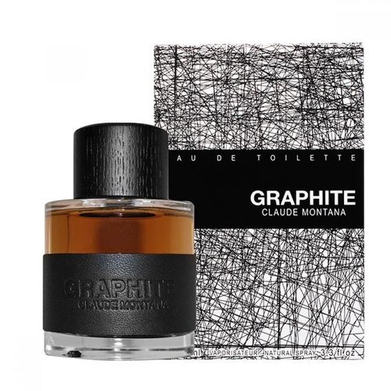 Perfume Montana Graphite Claude Montana Edt 100ml Novo