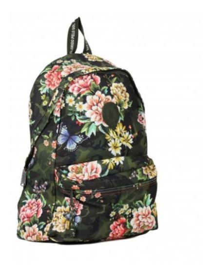 Mochila Farm Xodo Floral Camuflado Estampada U