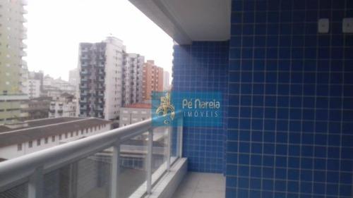 Imagem 1 de 30 de Apartamento Com 2 Dormitórios À Venda, 94 M² Por R$ 550.000,00 - Canto Do Forte - Praia Grande/sp - Ap0417