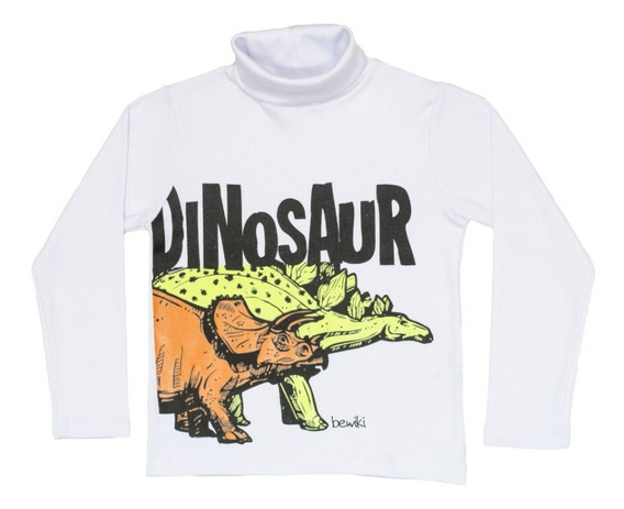 Polera Nene Glow Dinosaurio Bewiki Regalosdemama