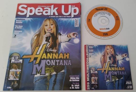 Revista Speak Up 259 Hannah Montana Excelente Para Estudar