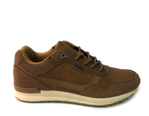 Zapatos Jeep Originales Para Hombres - Je360008m - Brown