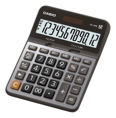 Calculadora Casio Escritorio Dx-120b