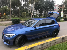Vendo Bmw Serie 1 120i Azul Estoril 2015 Paquete M