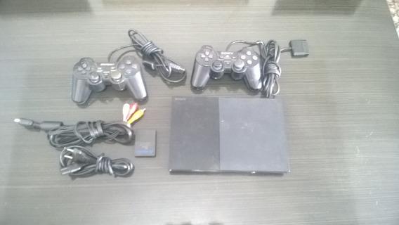 Playstation 2 Slim Scph 90001 Com Defeito No Leitor