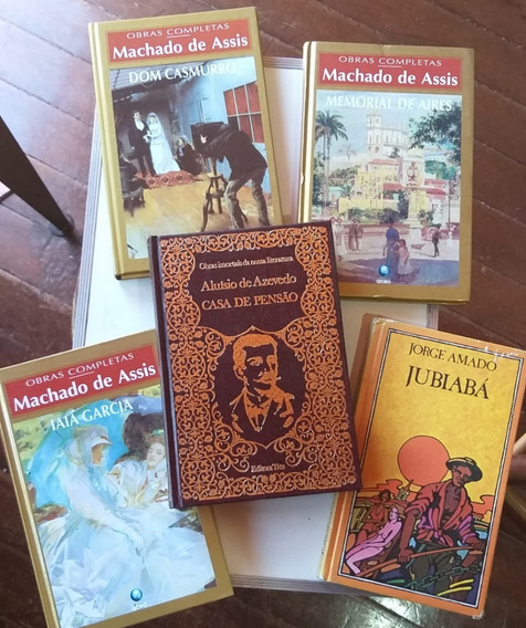 Lote 10 Livros Kit De Literatura Brasileira - Capa Dura