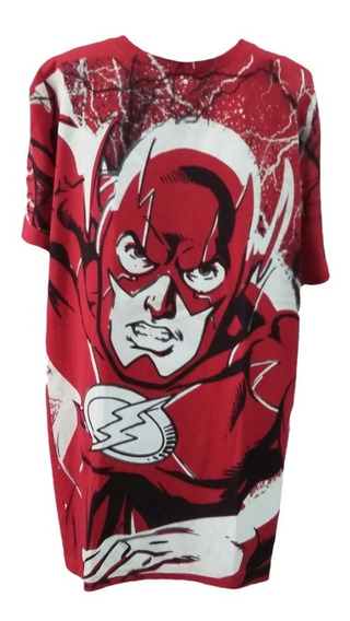 Playera The Flash ( Dc ) Roja