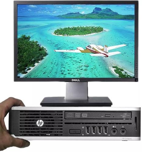 Mini Pc Computadora I5 3.3ghz 4gb 320gb Wifi + Monitor 19