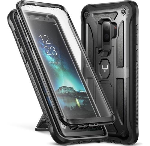 Case Galaxy S9 Plus Funda Premium Parador Vert Horiz C/ Mica