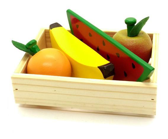 Kit Frutinhas - 04 Peças + Caixa
