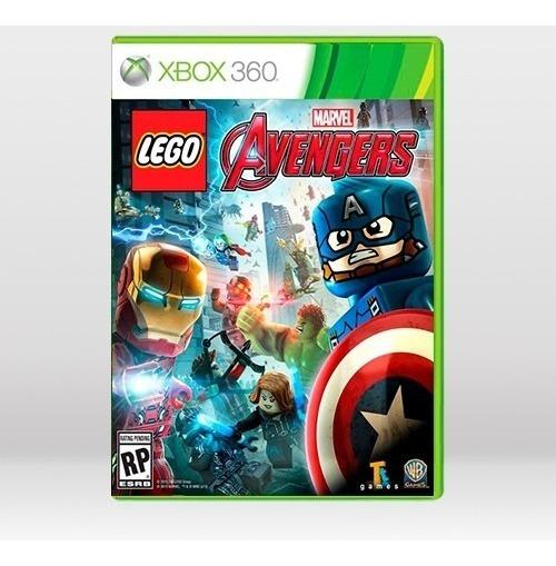 Lego Marvel Avengers Vingadores - Original P Xbox 360 - Novo