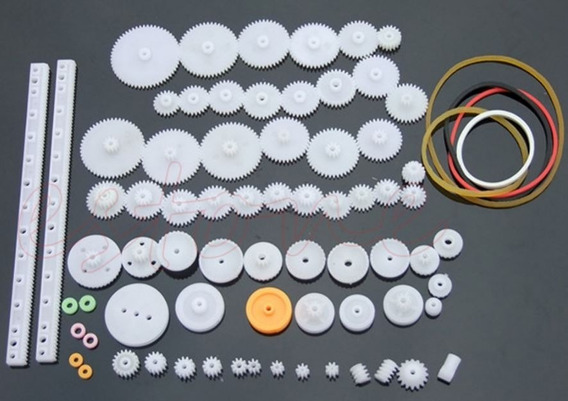 75 Tipos De Eixo De Dupla Redução Engrenagem Kit Para Robot