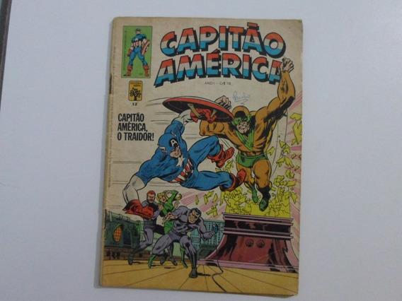 Capitão América N° 12 Editora Abril Original