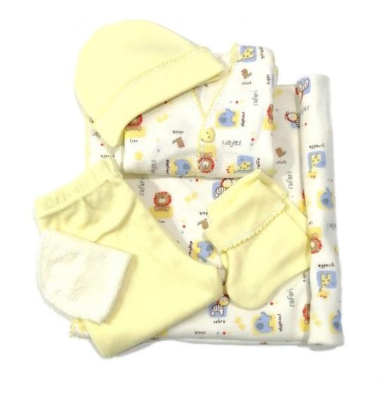 Kit Para Salida Del Hospital 6 Piezas Para Recién Nacidos