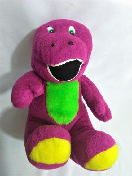 Pelúcia Barney 34cm (cor Rosa Pink) Usado Ler Anúncio Hb15$