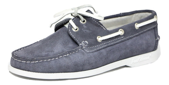 Zapatos Nauticos Mocasines Peskdores Gris Gr00027