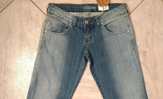 Calça Jeans Feminina Escovado Da Zoomp - Original