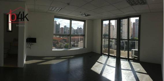 Sala Para Alugar, 37 M² Por R$ 1.500,00/mês - Vila Cordeiro - São Paulo/sp - Sa0286