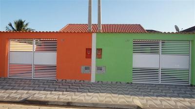 Casa Em Mongaguá Perto Do Cuca R$ 230 Mil Ref: 6106c