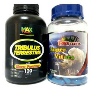 Tríbulus Terrestris C Maca + Ginseng + Catuaba + Marapuama