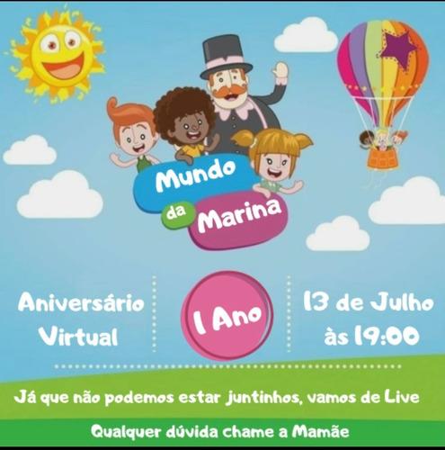 Convite Animado E Convite Virtual