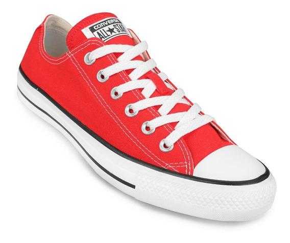 Zapatillas Converse All Star Rojo