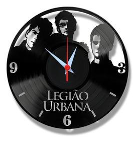 Legião Urbana Renato Russo Relógio Vinil Lp Disco Rock Mpb