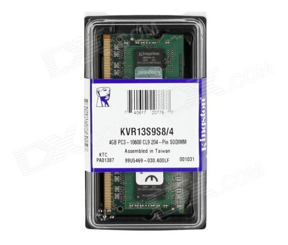 Memória Ddr3 1333mhz 4gb Macbook Pro 13 Late 2011 2.4ghz I5