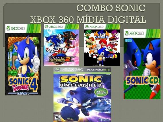 Sonic Combo Mídia Digital Xbox 360