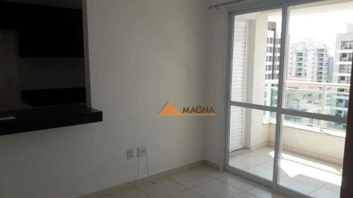 Apartamento Com 1 Dormitório Para Alugar, 44 M² Por R$ 950/mês - Jardim Nova Aliança - Ribeirão Preto/sp - Ap4580