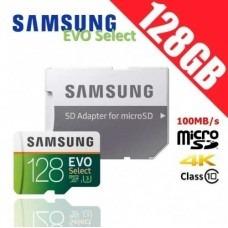 Imagen 1 de 3 de Memoria Micro Sd Samsung 128 Gb