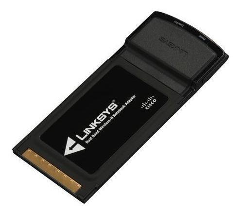 Tarjeta Pcmcia Linksys Wpc600n Dual-band Wifi 2.4 Y 5 Ghz..!