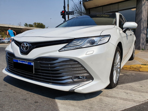 Toyota Camry 3.5 V6 At Año 2019 Color Blanco As Automobili