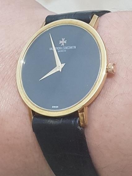 Relógio Vacheron Constantin Todo Em Ouro