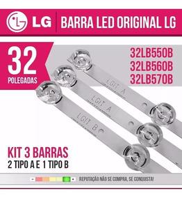 Kit Barramento Led Lg 32lb5600 32lb560b 32lb570b Completo