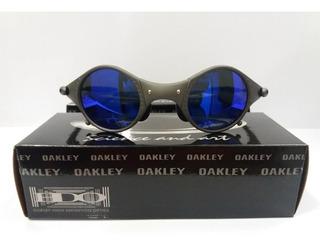 Oculos 24k Medusa Azul Escuro + Teste Lente