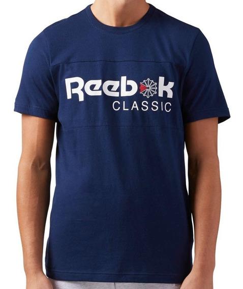 Playera Classic Iconic Hombre Reebok Ce1845