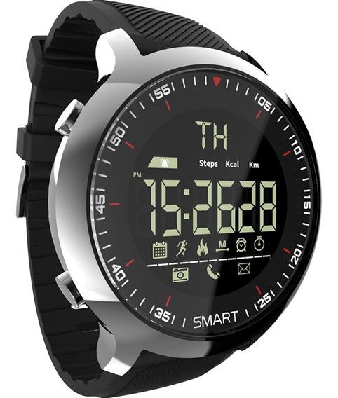 Smartwatch Lokmat Mk18 Lcd À Prova D