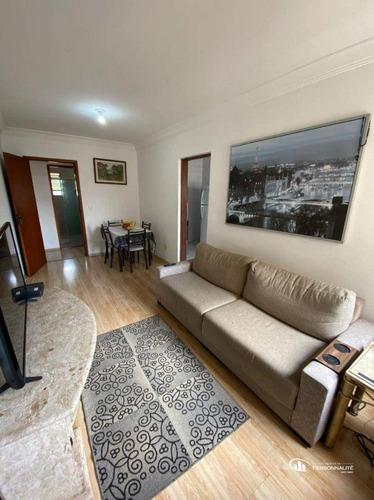 Imagem 1 de 19 de Apartamento Com 1 Dormitório À Venda, 54 M² Por R$ 210.000 - Jardim Andrea Demarchi - São Bernardo Do Campo/sp - Ap0808